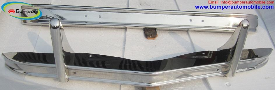 Citroen 2CV bumper in stainless steel (1948–1990)