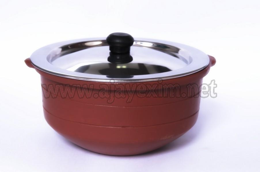Clay Stock Pot with SS Lid