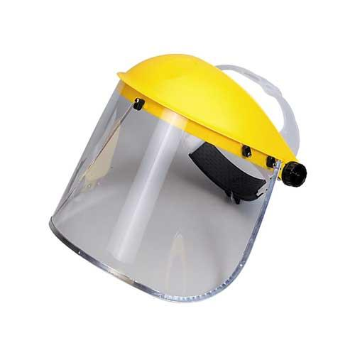 Clear Visor Face Shield to Provide Protection