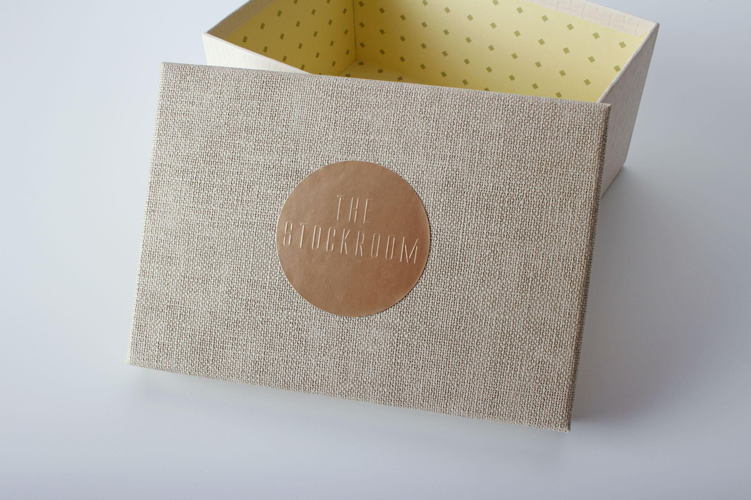 Custom Silver/Gold Embossed Paper Stickers
