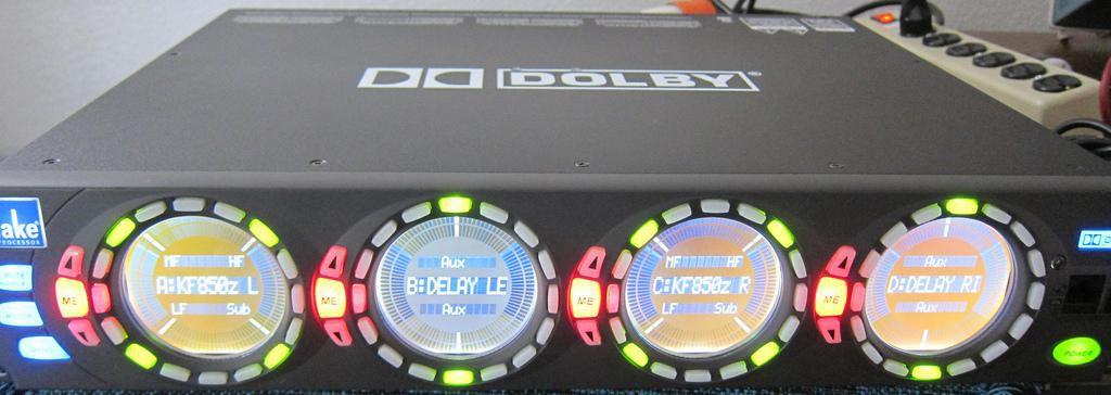Dolby Lake LP4D12 Processor DLP