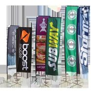 Get assured return on your advertising campaign with custom flags & banners