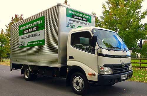 Get best offer on truck rental Auckland