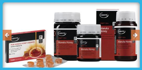 Get Comvita's Natural Health Products in Tauranga