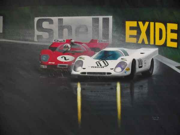 Get the best motor racing art only from the best, Kieranrobertsart.com