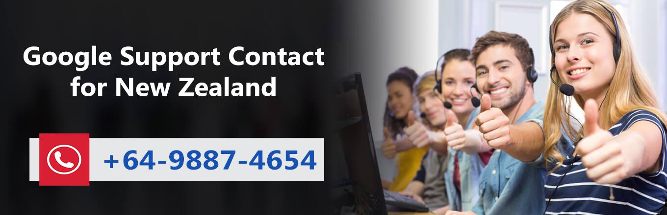 Google Support New Zealand 64-9887-4654