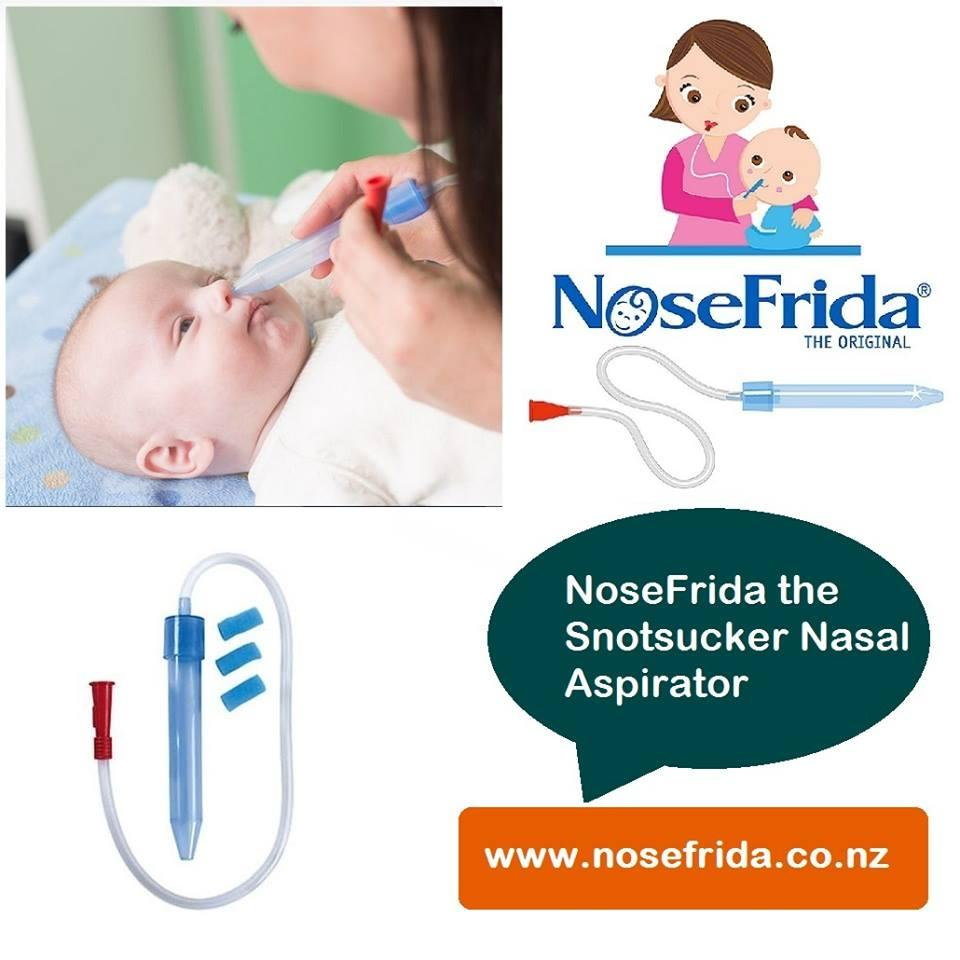 How to Use Nosefrida Baby Nose Clear Nasal Aspirator