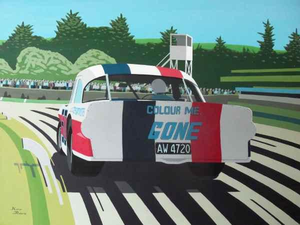Interested in motorsport paintings, visit Kieranrobertsart.com