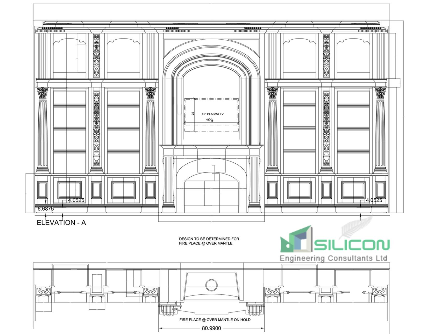 Interior Millwork Shop Drawings Auckland - Silicon Engineering Consultants Limited