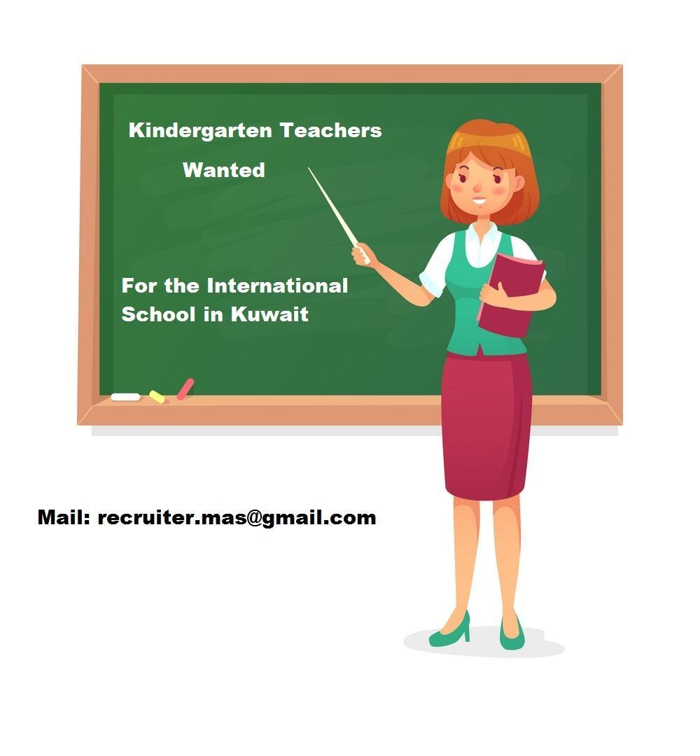 Kindergarten Teachers wanted