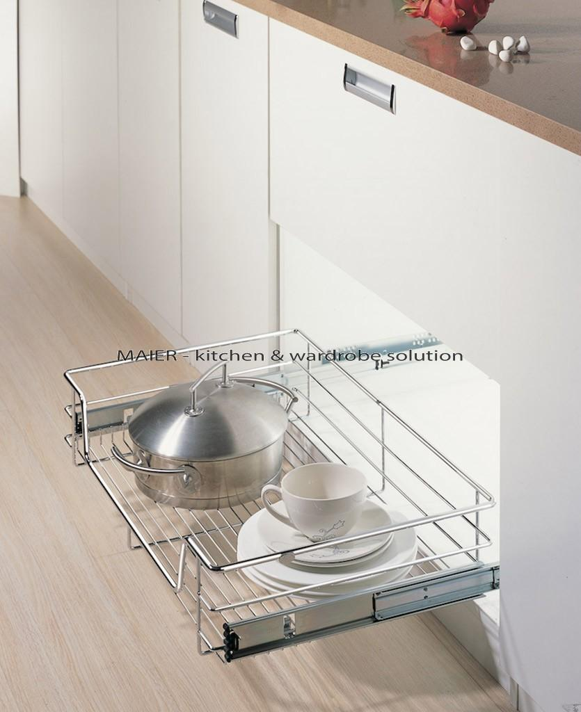Kitchen cupboard roller door