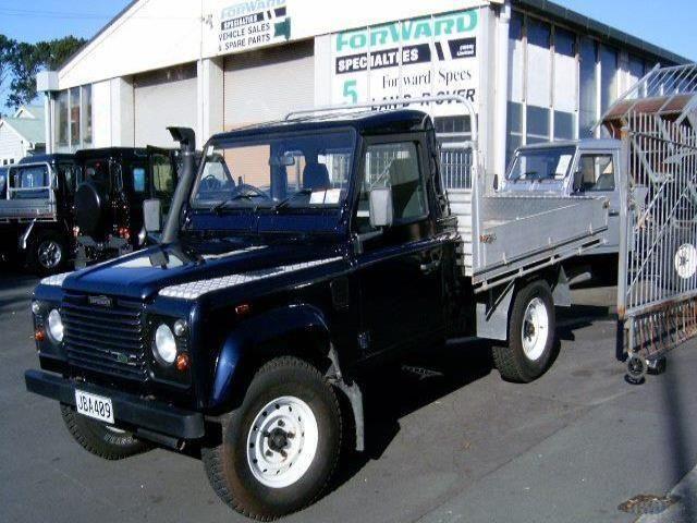 Land Rover Defender 110 Flat Deck 2001
