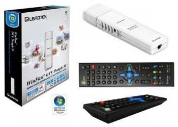 Leadtek DTV Dongle H, USB2.0 DVB-T Hybrid, Digital & Analog Terrestrial Radio FM TV Tuner