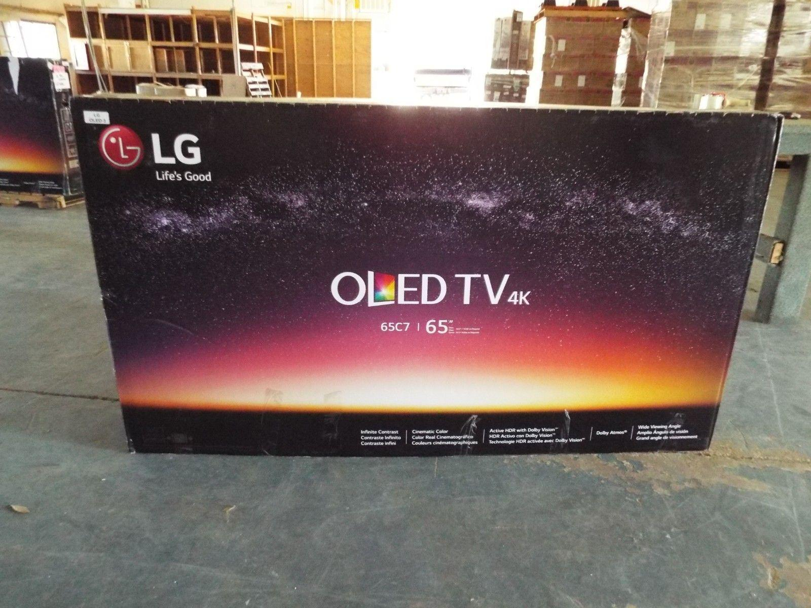 "LG 65"" Inch Class OLED C8 Series 2160p Smart 4K UHD HDR BRAND NEW"