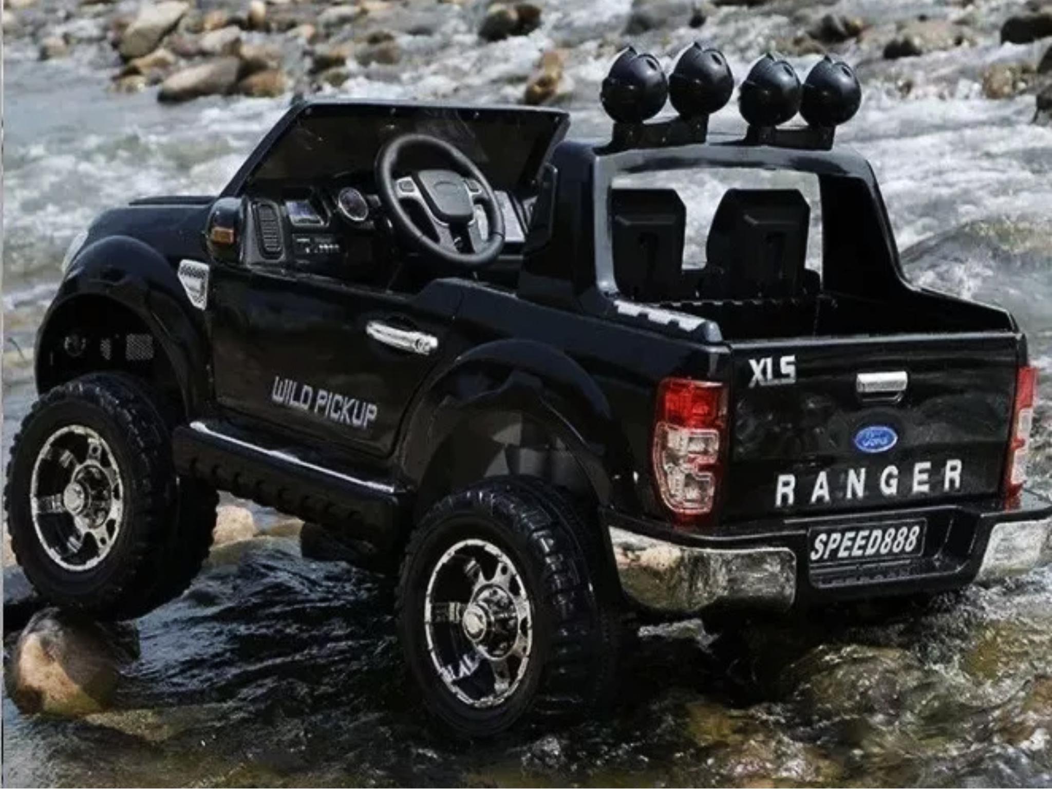 Licensed Ford Ranger Mini Electric Car 12v Black Pre-Order / Layby