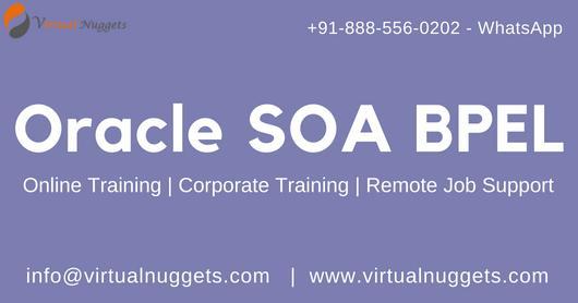 Live Oracle SOA | BPEL Online Training