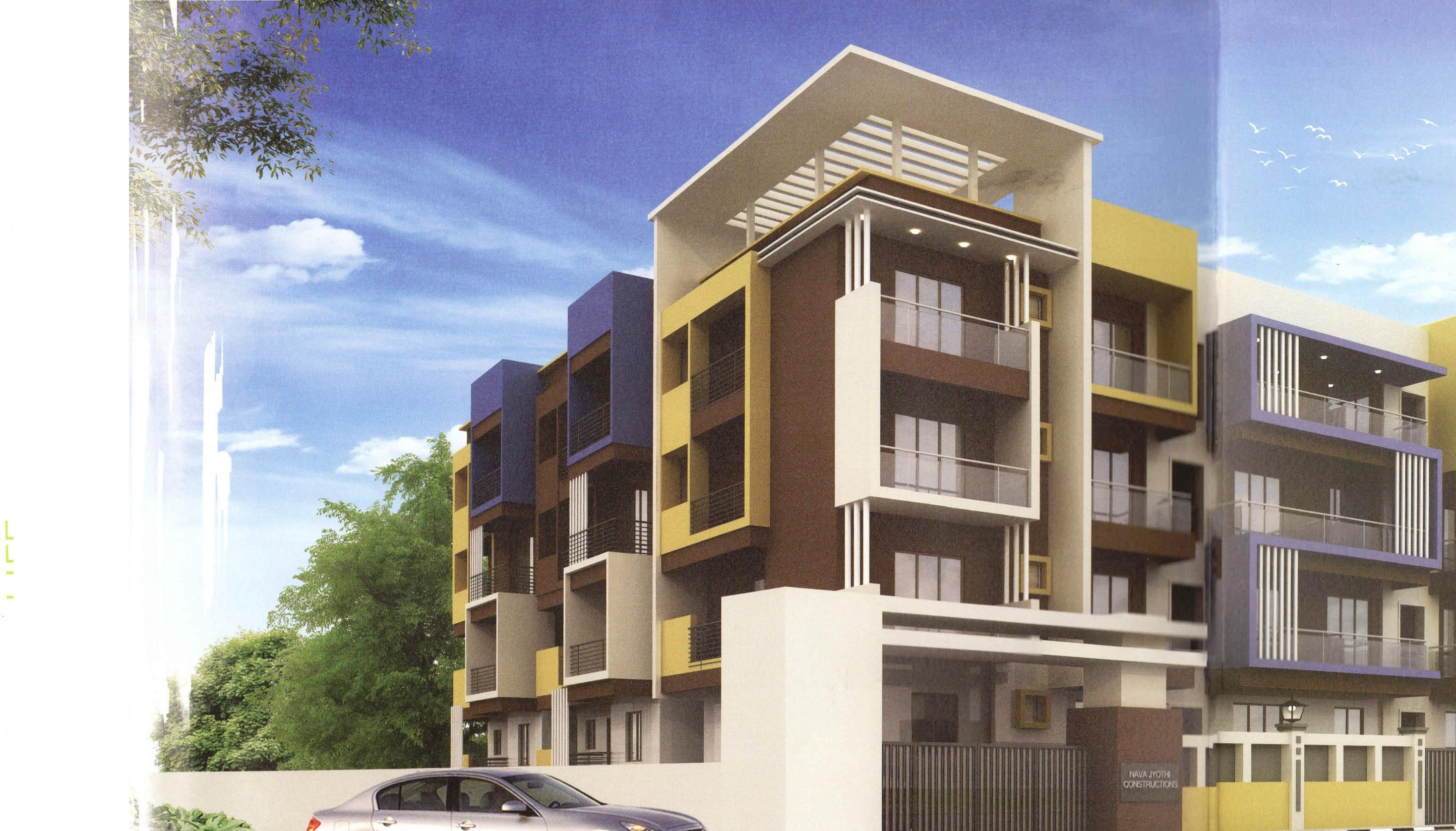 Luxcury apparment for sale in Bangalore 2 & 3 BHK @ Doddanekundi