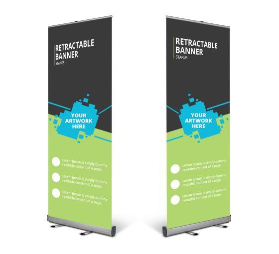 Make your presence noticeable with our banner stands