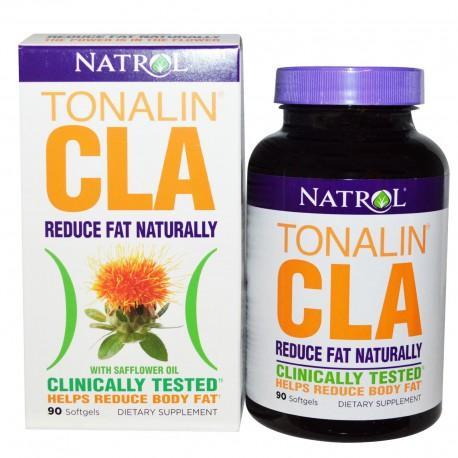 Megavitamins - Natrol Tonalin CLA with Safflower Oil 90 Softgels