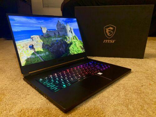 MSI GS65 Stealth THIN i7-8750H
