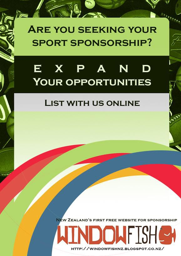 New Zealand's first free website for sport sponsorship