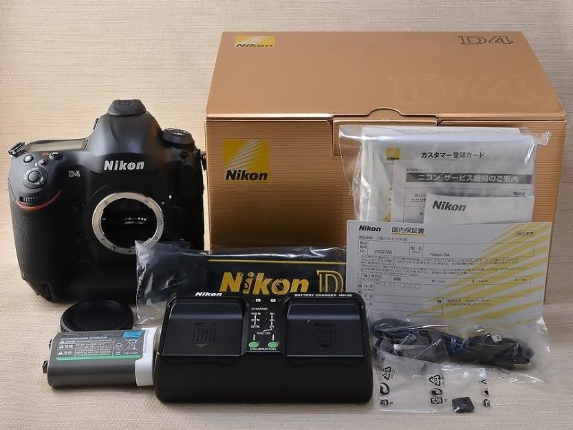 Nikon D4S DSLR 16.2MP Digital Camera