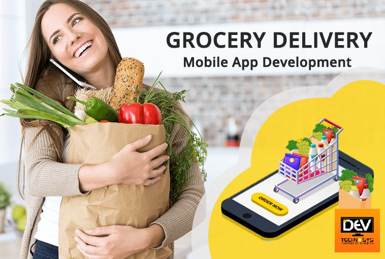 Online Grocery Mobile App Development