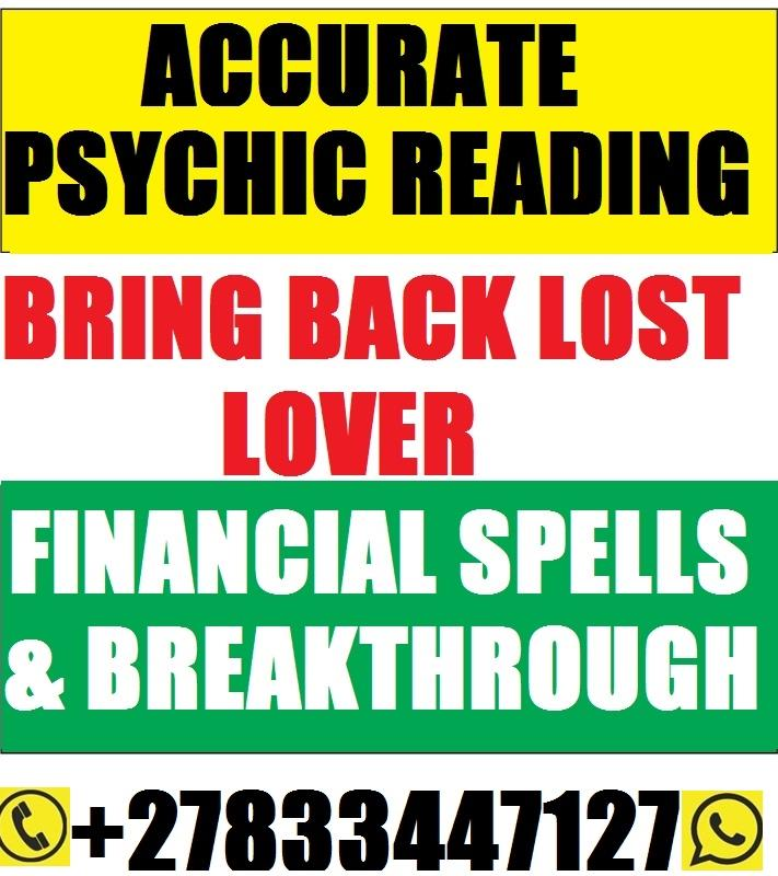 POWERFUL PSYCHIC/TRADITIONAL LOVE SPELLS 27833447127