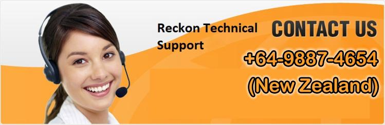 Reckon Contact Number New Zealand 64-9887-4654