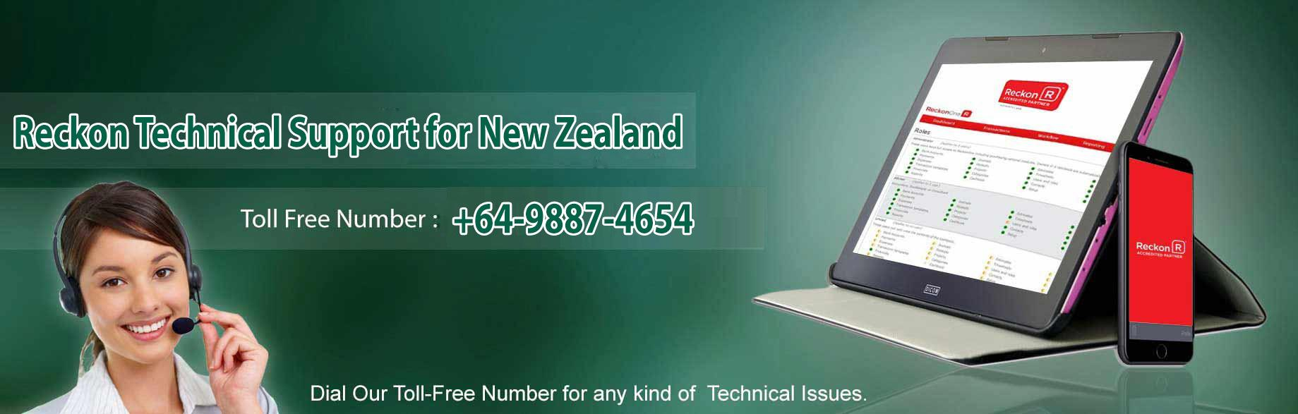 Reckon Customer Support Number New Zealand 64-9887-4654