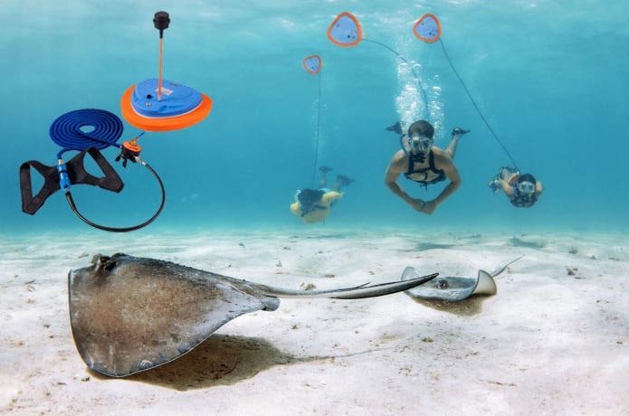 Scuba Aqualung Diving System Portable Rechargeable 70000mAh