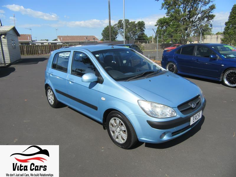 Second hand car | 2008 HYUNDAI GETZ BLUE LOW KMS
