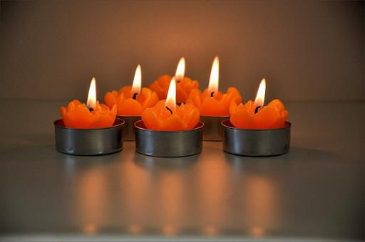 Small Elephant Candle Set
