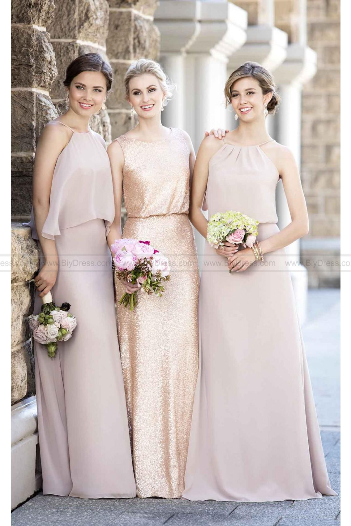 Sorella Vita Chiffon Bridesmaid Dress for sale