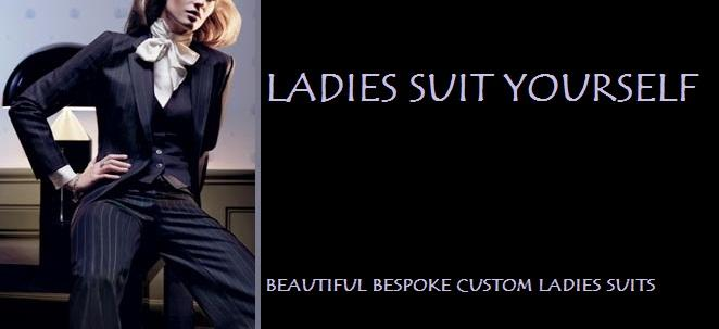 SUIT YOURSELF Mens & Ladies Bespoke Custom Suits