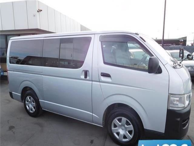 Toyota Hiace 3.0lt Turbo Diesel 5 Door 2008