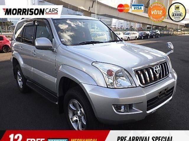 Toyota Land Cruiser Prado TX LTD 8 Seats 2005