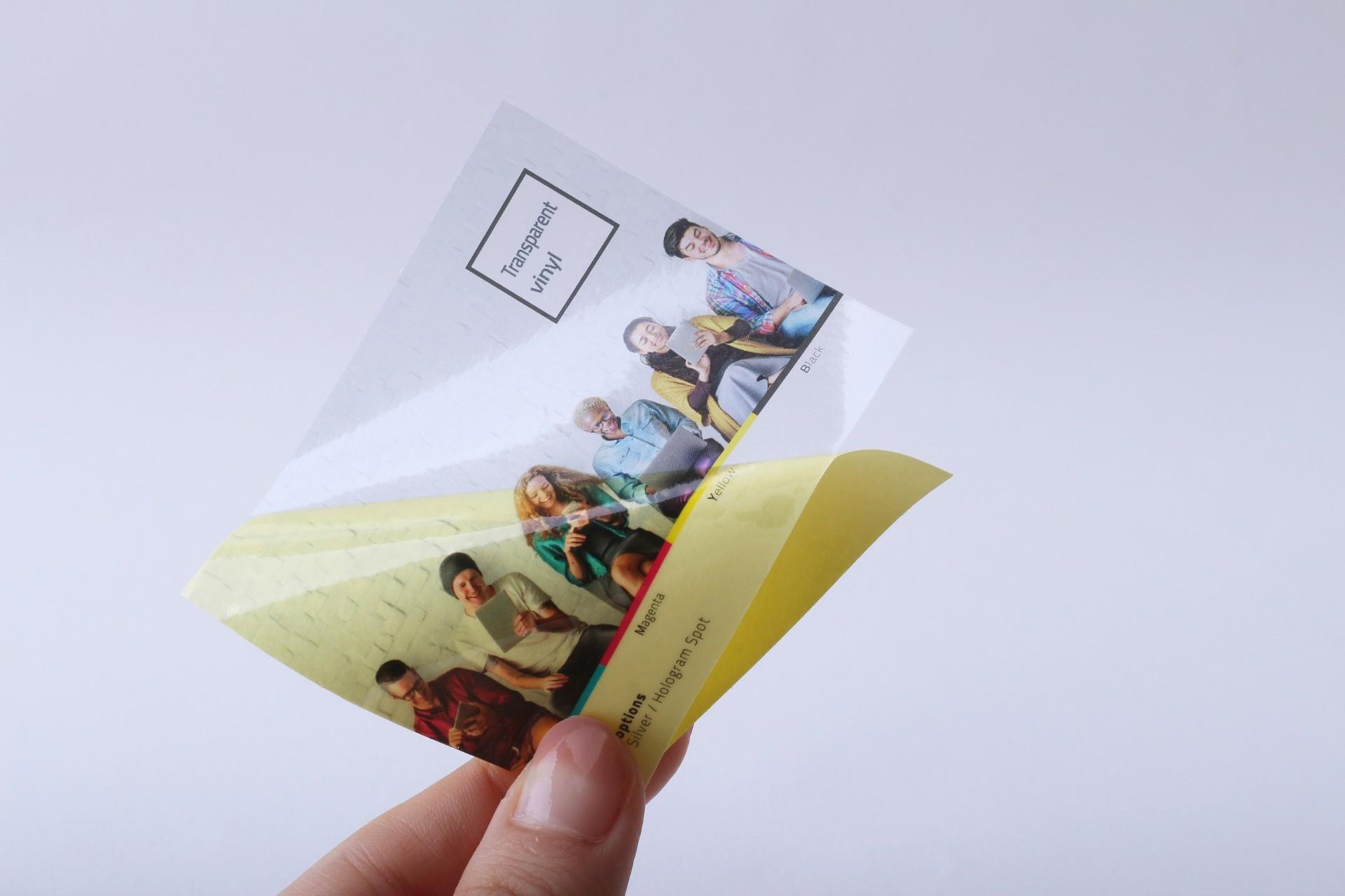 Transparent Stickers for $134 only!