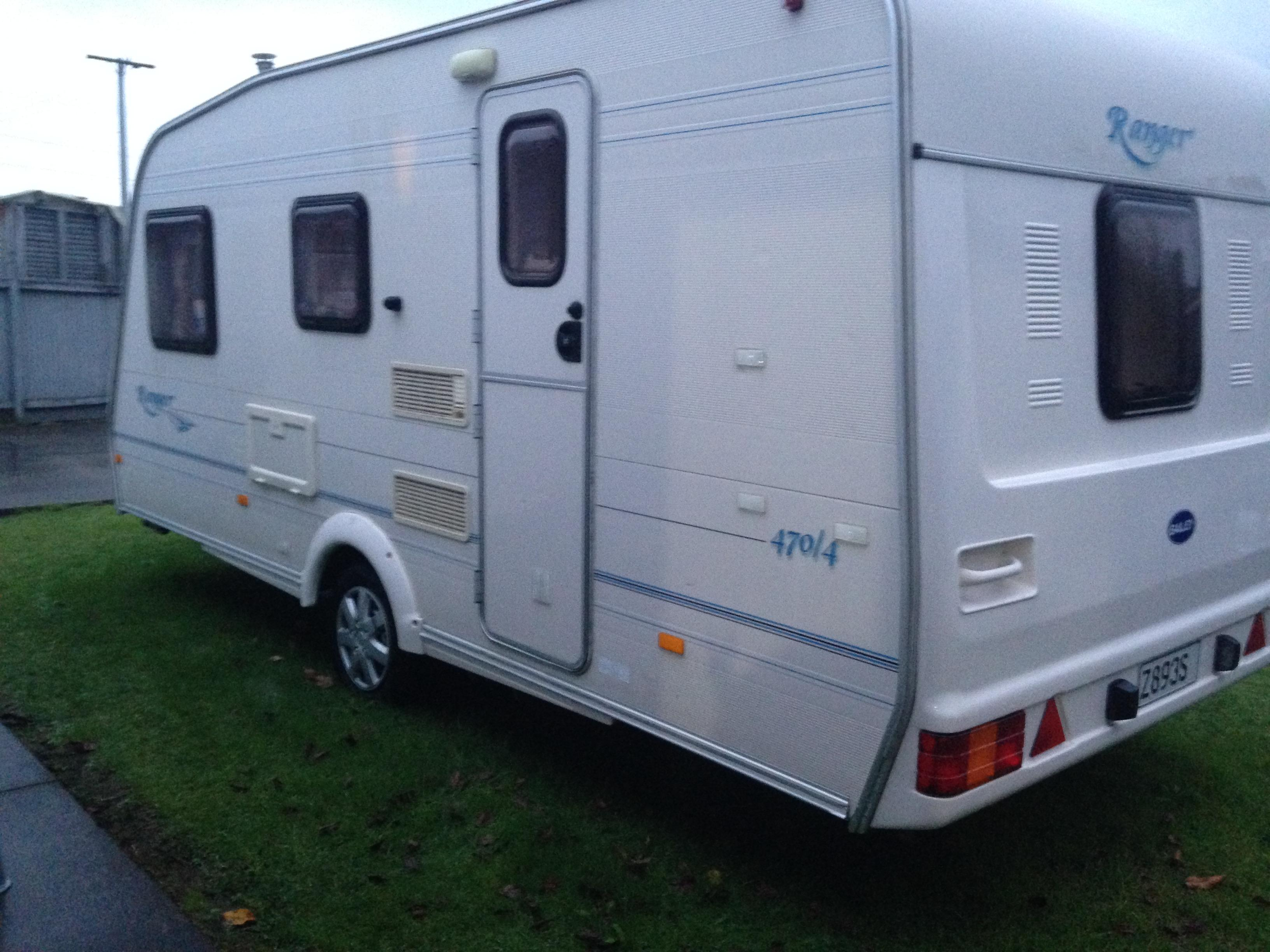 URGENT SALE – BAILEY RANGER 4 BERTH