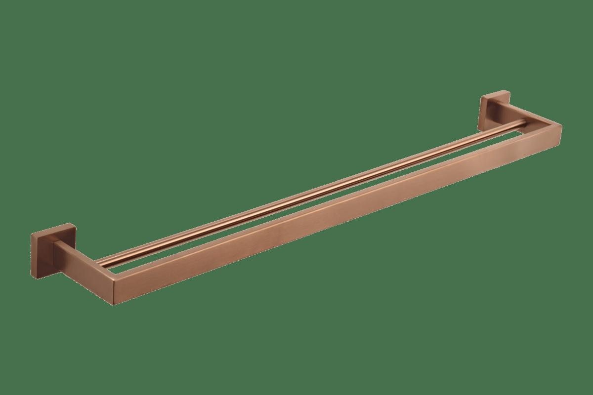 Vaada Double Towel Rail 760mm – Copper