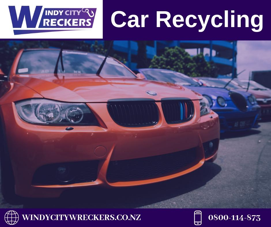 Why Car Recycling is Good Option for Your Damaged Car?