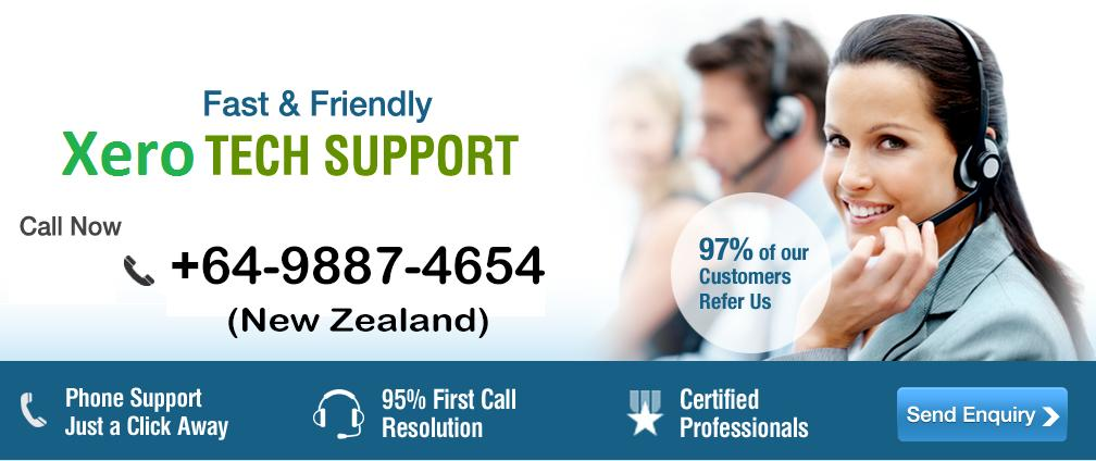 Xero Customer Help desk Number New Zealand 64-9887-4654