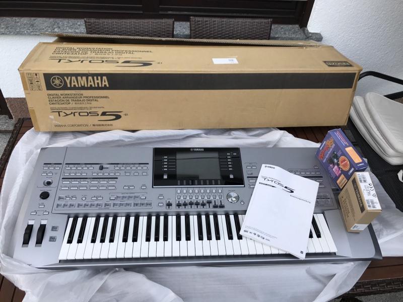 yamaha tyros 5 keyboard $1200 sales bonanza