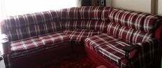 Beautiful 8 seater couch with 2 foot rest