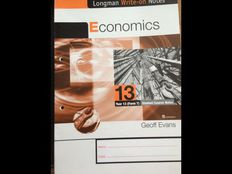 Longman Write-on Notes: economics, Year 13