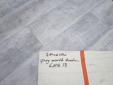 Vinyl foor cut 204cm x 119cm Grey marble quater GMQ13