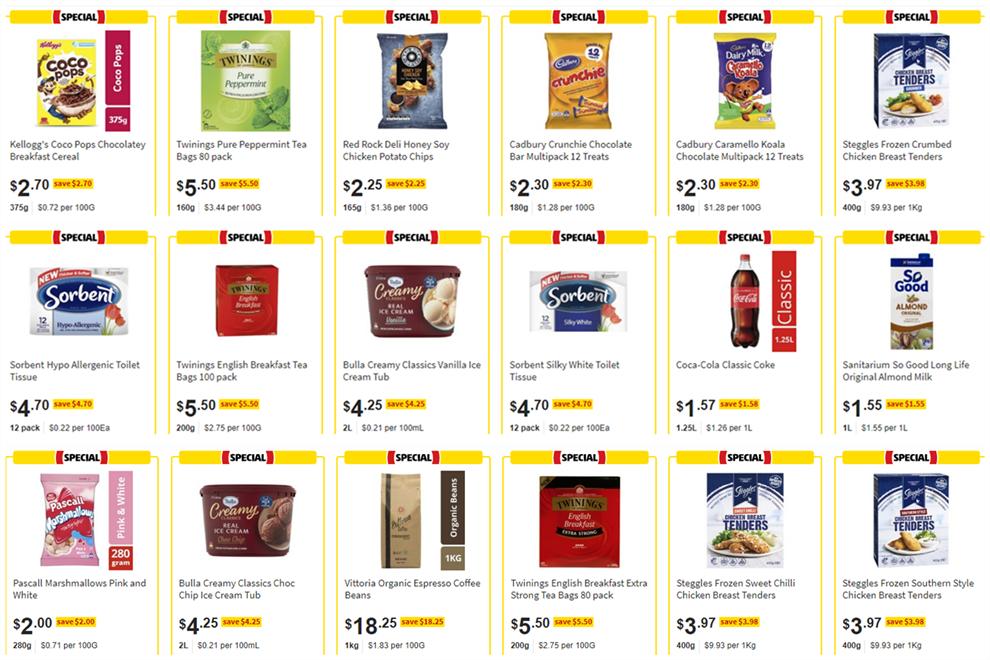 Coles Online 1 2 Price Specials Wyndham Media