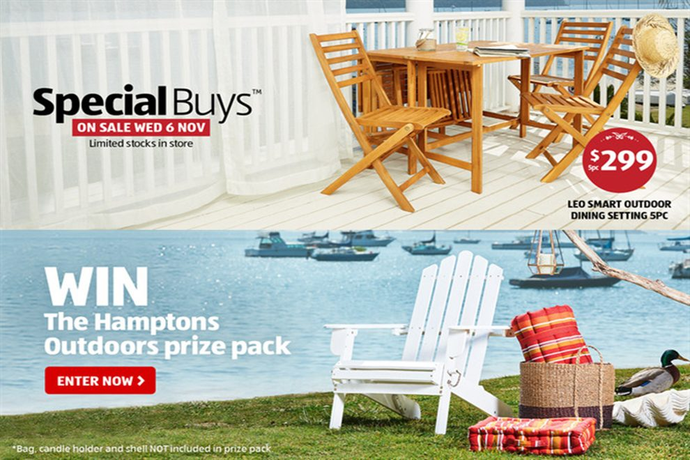 Aldi Summer Bedroom Outdoor Living Special Buys On Sale Wed 6 Nov Wyndham Media