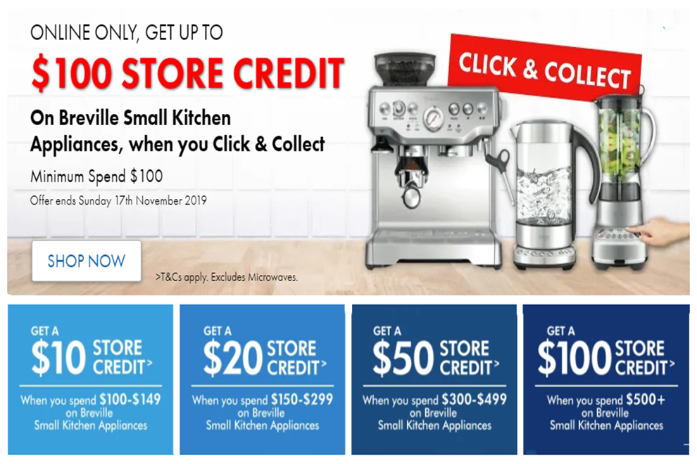 The Good Guys Buy Kitchen Appliances Can Get 100 Store Credit Wyndham Media