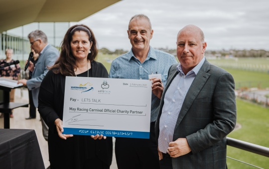 May Racing Carnival Official Charity Partner